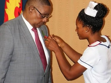 President Arthur Peter Mutharika of Malawi