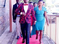 Prophet Shepherd Bushiri and his wife Prophetess Mary Bushiri