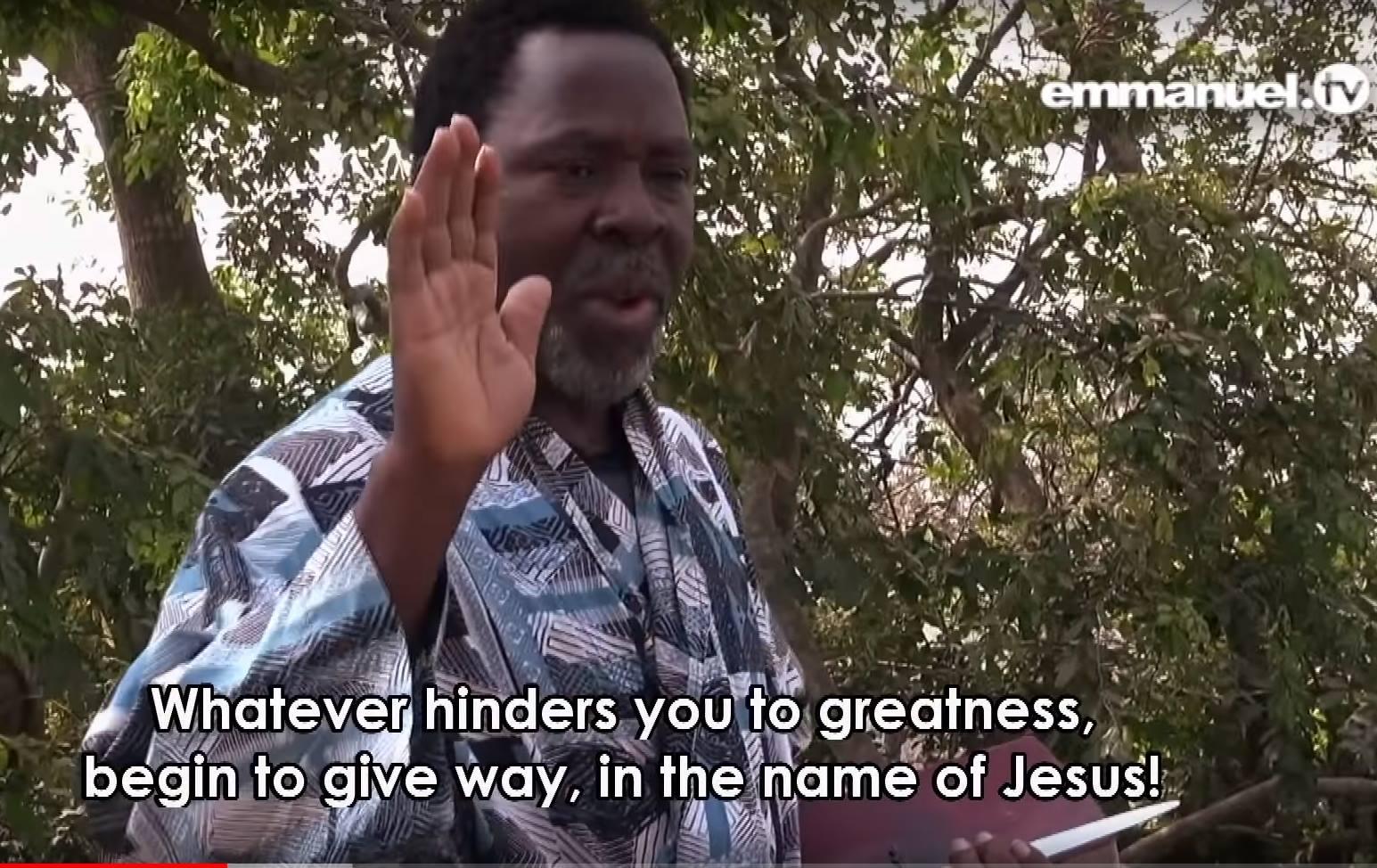 Tb Joshua Prayers
