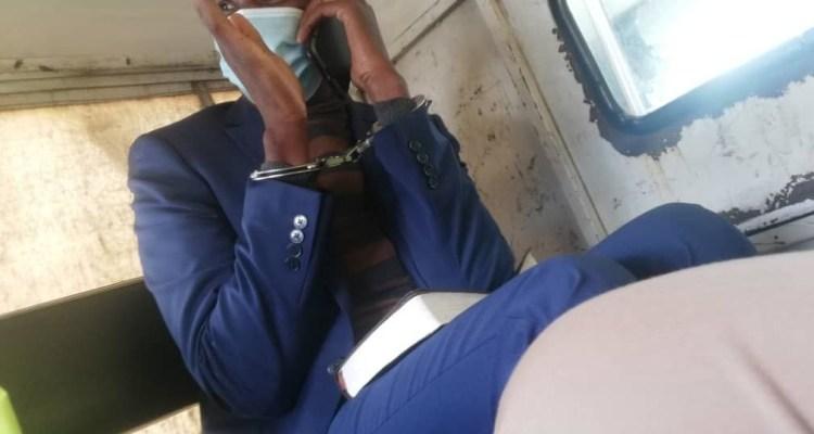 Peter Mutharika personal bodyguard