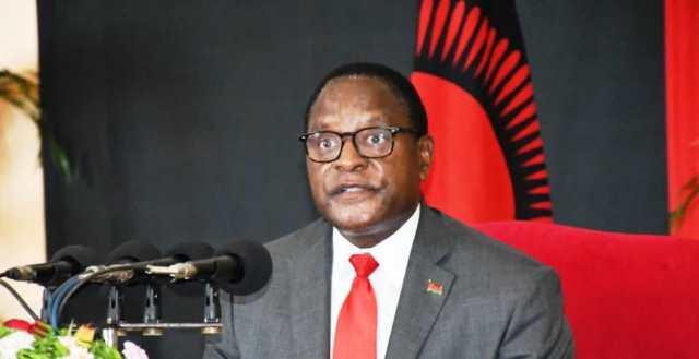 Lazarus Chakwera Malawi President