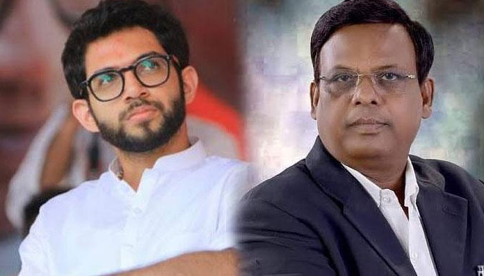 Image result for aditya thackeray vs suresh mane