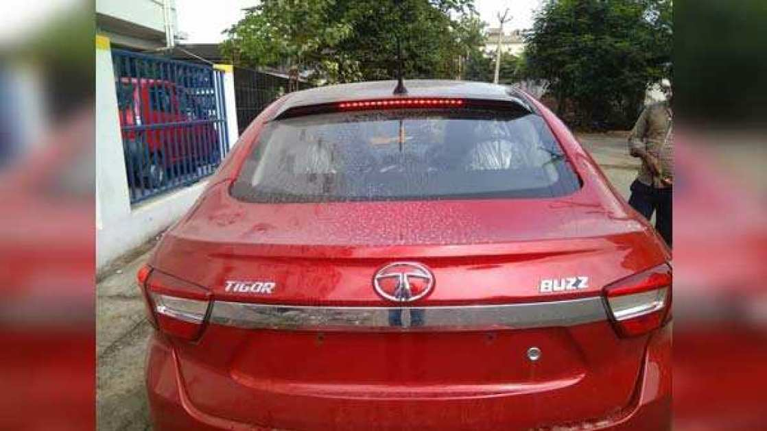 spied: tata tigor buzz limited edition; launch expected soon