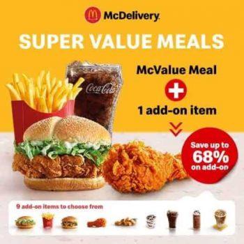 Makanan Nilai Super McDonald 2021