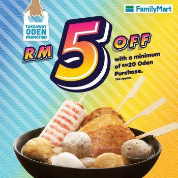 FamilyMart Oden dengan DISKAUN RM5 eksklusif