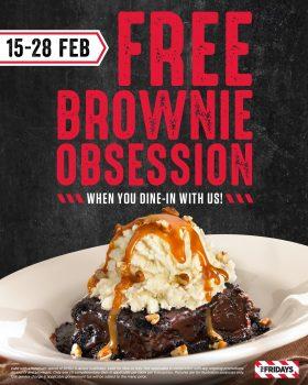 Obsesi Brownie Percuma pada hari Jumaat