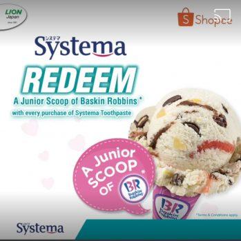 Ais krim Baskin-Robbins junior PERCUMA oleh Systema