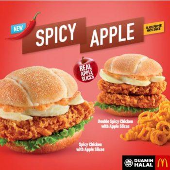Ayam Pedas BARU Mcdonald dengan Kepingan Apple