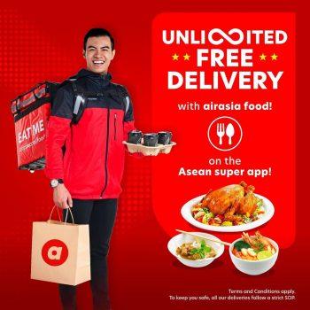 Penghantaran Percuma Makanan Airasia + Diskaun Upto RM 15