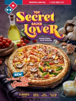 Tawaran Pizza Domino dan Kod Kupon Mac 2021