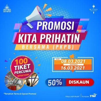 Hadiah Tiket Masuk Menara Kuala Lumpur Percuma