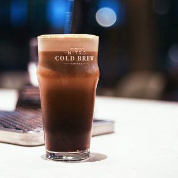 Starbucks Nitro Cold Brew DISKAUN 20% @ Starbucks Reserve Tropicana Gardens Mall