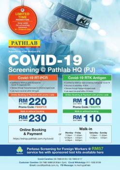 Kod Promosi Potongan Skrin Pathlab Covid-19