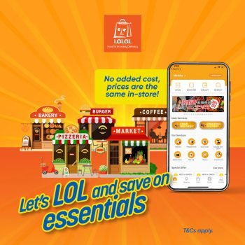 Penghantaran makanan dan bahan makanan DISKAUN LOLOL Tambahan RM5 dengan Touch 'n Go eWallet
