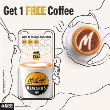 Aplikasi McDonald's Red Coffee Redemption