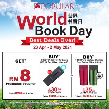 Promosi Hari Buku Sedunia POPULAR 2021