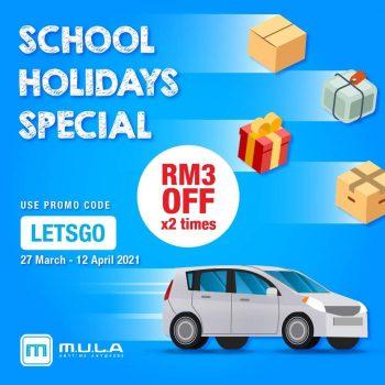 Perkhidmatan penghantaran MULA Car atau MULA Parcel Kod Promosi Luar Biasa RM6