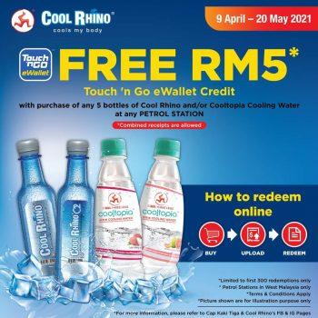 Bad Rhino & Cooltopia Percuma RM5 Touch 'n Go eWallet Credit