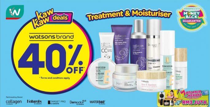 Watson's Skincare Extra 40% Diskaun