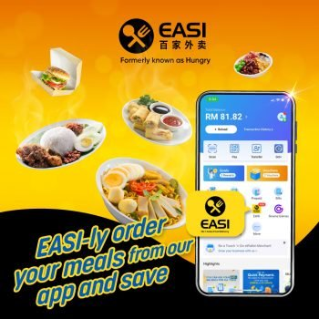 EASI x Touch 'n Go eWallet Diskaun 30% Tambahan