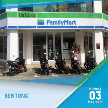 FamilyMart Bentong Dibuka Diskaun 25% Tambahan