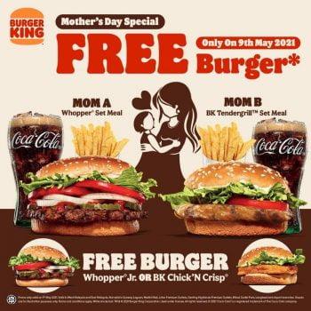 Burger ala carte BK Chick'N Crisp OR Whopper® Jr PERCUMA
