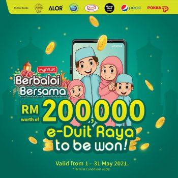 myNEWS Raya Berbaloi Bersama dengan e-Duit Raya bernilai RM200,000!