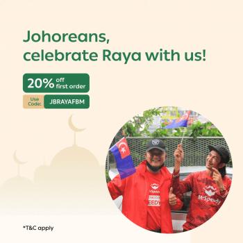 MrSpeedy // Promo Raya 20% Johor