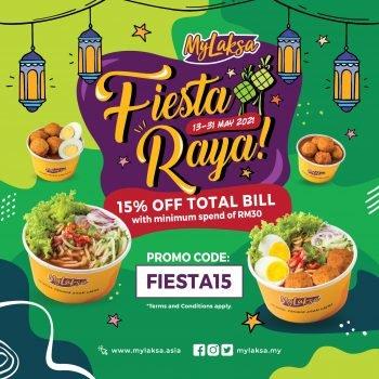 MyLaksa Fiesta Raya Diskaun 15% Kod Promo