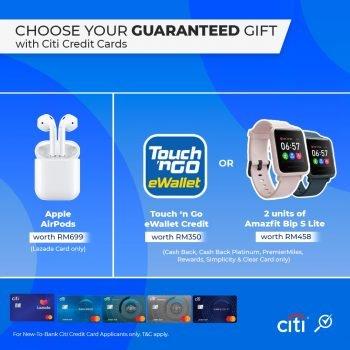 EWallet TNG RM350 atau Amazfit Bip S Lite percuma dengan Kad Citibank