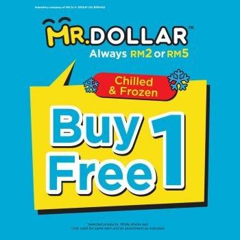 MR Dollar Beli 1 Percuma 1 makanan sejuk & Beku makanan