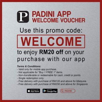 Aplikasi Beli-Belah PADINI Baucar RM20 Percuma