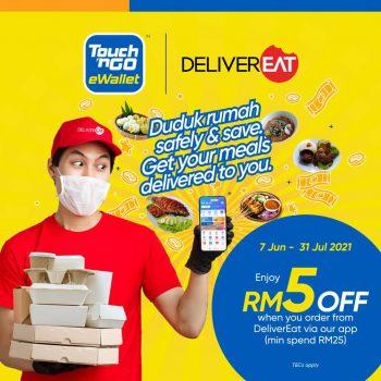Hantar Diskaun Tambahan RM5 dengan TNG