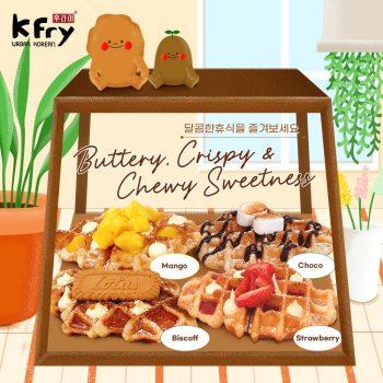 K Fry DESSERT Korea Popular Baru