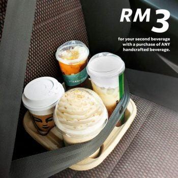 Minuman Cup ke-2 Starbucks Dengan Hanya RM3