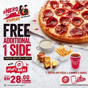 Makanan Sampingan Percuma Pizza Hut