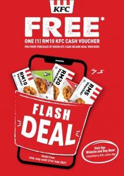 Baucar Tunai RM10 KFC percuma dengan Promosi Pembelian
