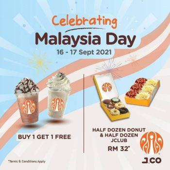 J.CO Donuts & Coffee Hari Promosi Malaysia