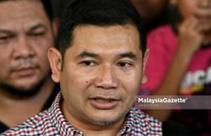 Calon Timbalan Presiden Parti Keadilan Rakyat (PKR), Rafizi Ramli. foto FAREEZ FADZIL, 11 MEI 2018