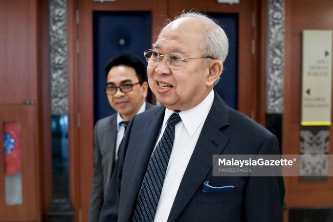 Ahli Parlimen Gua Musang, Tengku Razaleigh Hamzah ketika menghadiri sesi perbahasan di Dewan Rakyat, Bangunan Parlimen, Kuala Lumpur. foto FAREEZ FADZIL, 25 JULAI 2018