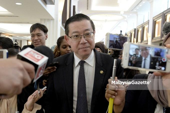 Menteri Kewangan, Lim Guan Eng ketika menghadiri sesi perbahasan di Dewan Rakyat, Bangunan Parlimen, Kuala Lumpur. foto IQBAL BASRI, 06 OGOS 2018.