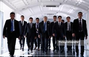 Perdana Menteri yang juga Ahli Parlimen Langkawi, Tun Dr. Mahathir Mohamad hadir pada Sidang Dewan Rakyat di Bangunan Parlimen, Kuala Lumpur. foto HAZROL ZAINAL, 23 JULAI 2018.