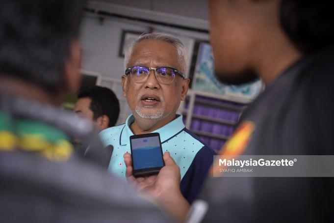 Datuk Mahfuz Omar. foto SYAFIQ AMBAK, 07 OKTOBER 2018.