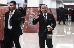 Menteri Pendidikan merangkap Ahli Parlimen Simpang Renggam, Dr. Maszlee Malik ketika hadir pada pembentangan Belanjawan 2019 di Dewan Rakyat, Parlimen, Kuala Lumpur. foto AFFAN FAUZI, 02 NOVEMBER 2018