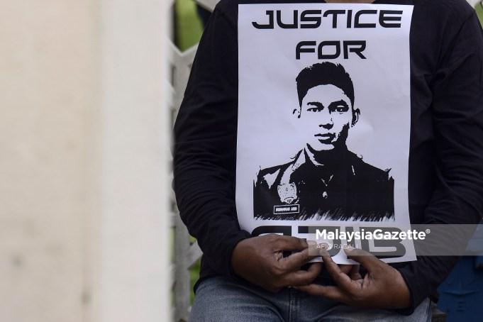 abatan Bomba dan Penyelamat Malaysia (JBPM) mahukan keadilan untuk anggotanya Allahyarham Muhammad Adib Mohd Kassim terlaksana walau apa juga kaedah yang diambil pihak berkuasa dalam menentukan punca kematiannya.