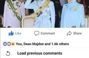 Seorang peniaga, Cheah Kim Hung, 46, memohon keampunan daripadaYang di-Pertuan Agong Al-Sultan Abdullah Ri'ayatuddin Al-Mustafa Billah Shah kerana tindakannya memuat naik komen yang tidak sepatutnya di laman Facebook baru-baru ini.