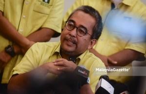 Presiden Parti BERJASA, Datuk Badhrulhisham Abdul Aziz. foto AFFAN FAUZI, 29 MEI 2019