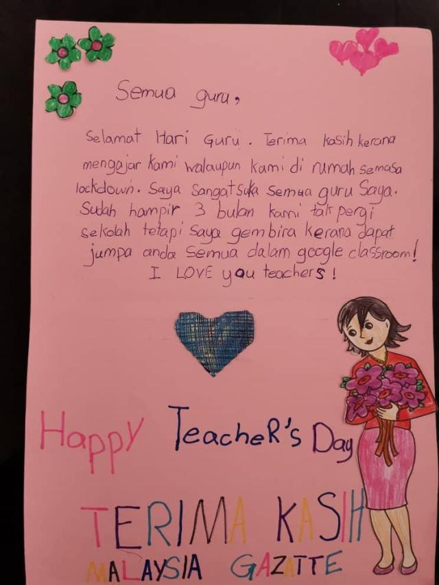 Kad Ucapan Kad Terima Kasih Cikgu 12 Terima Kasih Cikgu Ideas Selamat Hari Guru Teachers Day Card Teachers Day Mereka Selalu Ada Disaat Kita Membutuhkan Namun Mereka Jugalah Yang Pertama