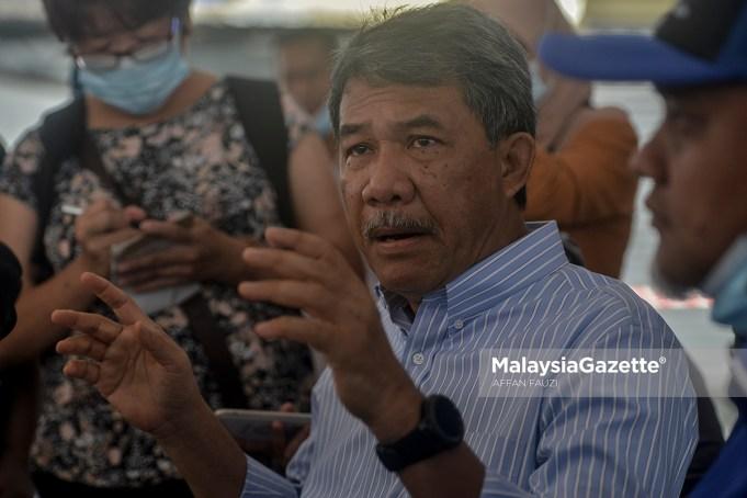 Datuk Seri Mohamad Hasan parliament sitting Dewan Rakyat