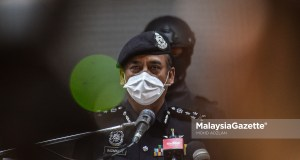 Datuk Razarudin Husain. PIX: MalaysiaGazette Tan Sri Datuk Seri drug lords businessmen